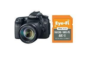 Canon 70d EOS 70D EFS 18-135mm IS STM Kit + 16GB Pro X2 Card