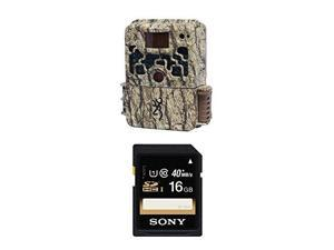 Browning STRIKE FORCE HD Sub Micro Trail Camera (10MP) with Sony 16GB SDHC Class 10 UHS-1 R40 Memory Card