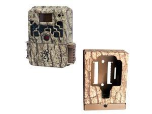 Browning Strike Force Trail Camera with Browning Trail Camera Security Box