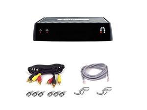 Sling Media Slingbox M1 Bundle with 6' Audio/Video Cable and Snagless Network Cable.