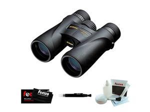 Nikon MONARCH 5 7577 10 x 42 Binocular (Black) with Accessories