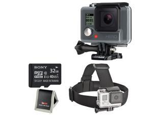 GoPro HERO HD with Bower Elastic Head Strap & 32GB Deluxe Accessory Bundle