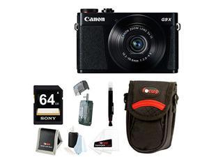 CANON G9 X: Canon PowerShot G9 X 20.2MP Digital Camera with Medium Camera Case and 64GB SDXC Accessory Bundle