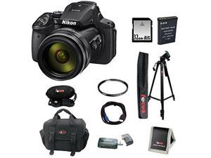 NIKON P900: Nikon Coolpix P900 Camera with Filter and 32GB Deluxe Kit