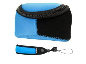 Nikon Soft Shell Camera Case and Strap - Blue