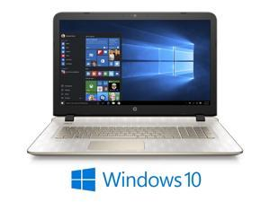 "HP Laptop Pavilion 17-g199cy AMD A4-Series A4-6210 (1.80 GHz) 6 GB Memory 1 TB HDD 8 GB SSD AMD Radeon R3 Series 17.3"" Windows 10 Home 64-Bit"