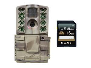 Moultrie A-20i Mini Trail Game Camera MCG-13130 (12MP) w/ Sony 16GB Memory Card