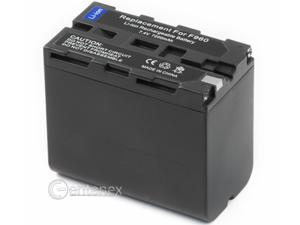 2x - Battery for Sony L-Series NP-F960 NP-F950 NP-F930 NP-F970 NP-F770 NP-F750 NP-F730 NP-F570 NP-F550