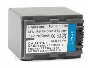 Battery for Sony NP-FP90 DCR-SR40 DCR-DVD92 DCR-HC20 DCR-HC36 DCR-HC40E DCR-HC96E DCR-SR60 DCR-SR80