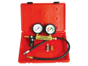 Cylinder Leakage Tester in a Plastic Case