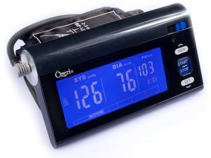 Ozeri CardioTech BP3T Upper Arm Blood Pressure Monitor With Intelligent Hypertension Detection - Black