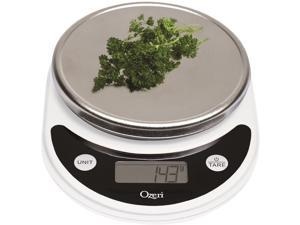 Ozeri Pronto Digital Multifunction Kitchen and Food Scale, in White