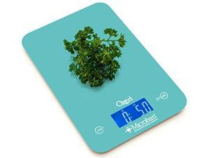 Ozeri Touch II 18 lbs Digital Kitchen Scale, with Microban® Antimicrobial Product Protection