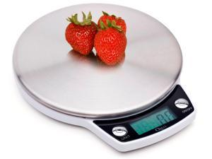 Ozeri ZK011 Precision Pro Stainless Steel Digital Kitchen Scale with Oversized Weighing Platform