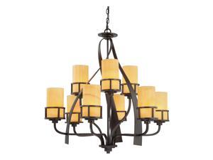 Quoizel 9 Light Kyle Chandelier in Imperial Bronze - KY5009IB