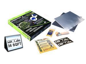 GTMAT Onyx 70mil Pure Butyl - 36sqft Premium Automotive Sound Deadener Resonance Dampener Installation Kit