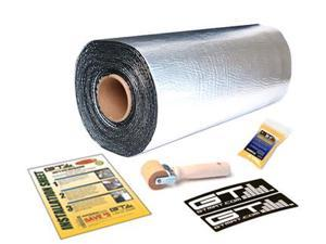 GTMAT 110mil - 25 sqft Roll Automotive Audio Sound Deadener Noise Reduction Installation Kit