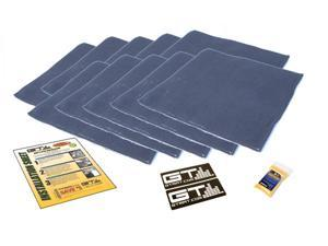 GTMat Quadro 10sqft Automotive Four Layer, Butyl and Closed Cell Foam, Sound Deadening Adhesive Mat Tiles