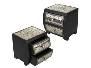 Hammersmith 2-Drawer Jewelry Box (MSRP:$45)