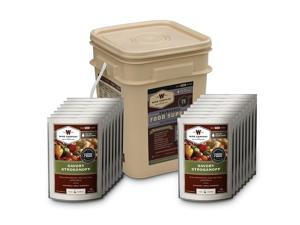 Wise 60-Serving Meat Bucket Grab and Go Kit