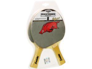 NCAA Arkansas Razorbacks Table Tennis Paddle Set