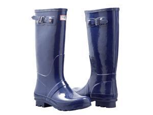 Ladies' Tall, Flat Rain Boots (Rubber Wellies)
