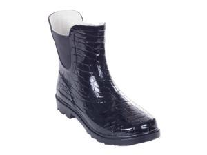 Women 7'' Groovy Rubber Ankle Rain Boot