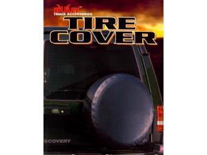 """Bully Universal Black Color Spare Tire Cover for Wheels from 26.5"""" to 29.5"""""""