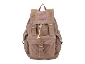 Gootium 21101CF Specially High Density Thick Canvas Backpack Rucksack Coffee - Shipped from US