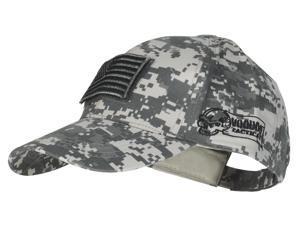 Voodoo Tactical 20-9351 Contractor Cap, ACU with Flag