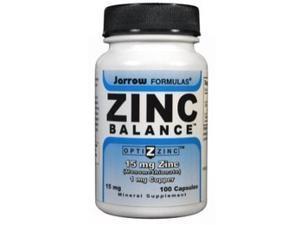 Zinc Balance 15 mg - Jarrow Formulas - 100 - Capsule