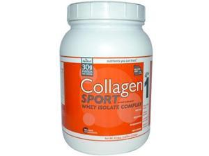 Neocell Collagen Sport Whey Protein, Belgian Chocolate, 47.6 Ounce