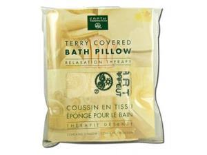Earth Therapeutics: Terry Covered Bath Pillow, Natural