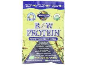 Garden of Life: RAW Organic Protein Vanilla, 15 packets