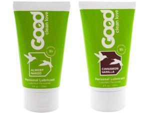 Good Clean Love: Cinamon Vanilla + Almost Naked Lubricant, 1.5 oz