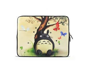 "Totoro 17.1"" 17.3"" inch Laptop Bag Sleeve Case for Apple MacBook pro 17/Dell Inspiron 17R Vostro XPS Alienware M17x/Samsung 700 Sony Vaio E 17/ HP dv7 ENVY 17/Asus G74 K73 N75 A93"
