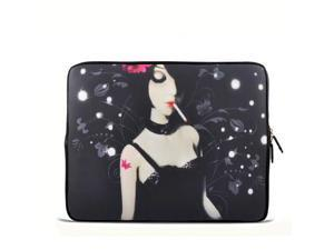 "Daughter smoking 17.1"" 17.3"" inch Laptop Bag Sleeve Case for Apple MacBook pro 17/Dell Inspiron 17R Vostro XPS Alienware M17x/Samsung 700 Sony Vaio E 17/ HP dv7 ENVY 17/Asus G74 K73 N75 A93"