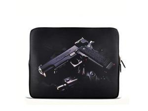 """Desert eagle Gun 6"""" 7"""" 7.85"""" inch tablet Case Sleeve Carrying Bag Cover with handle for Apple iPad mini/Samsung GALAXY Tab P3100 P6200/Kindle 7 inch/Acer Iconia A100/Google Nexus 7/Noble NOOK Color"""