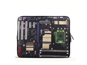 "Motherboard 14"" 14.4"" inch Notebook Laptop Case Sleeve Carrying bag for Lenovo Y470 Y480/ASUS A43 N46 X84/Samsung 530 Q470 Q460/DELL Inspiron 14R Vostro 1450/HP DV4 ENVY/Thinkpad E420"