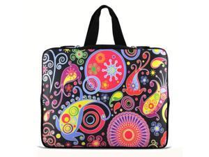 "Colorful Paisley 11.6"" 12.1"" 12.5"" inch Notebook Laptop Case Sleeve Carrying bag with Hide Handle for DELL E6230 XT2 XPS Duo/Samsung 350U 400B/ASUS B23/HP 4230S 2560P/Thinkpad X230 X220/TOSHIBA U920T"