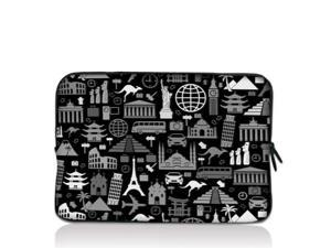 "World Civilization 15"" 15.4"" 15.6"" inch Notebook Laptop Case Sleeve Carrying bag for Apple MacBook Pro 15 15.4 /Dell Inspiron 15R Alienware M15X /ASUS A55 K55 N56/Sony E15 S15 EL2/ThinkPad E530"