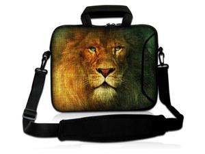 """The Lion King 16"""" 17"""" 17.3"""" 17.6"""" inch Laptop Shoulder Bag Sleeve Case for Apple MacBook pro 17/Dell Inspiron 17R XPS Alienware M17x/Samsung 700/Sony Vaio E/HP dv7 ENVY 17/Asus G74 K73 N75 A93"""