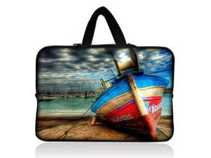 """Color boat 17.1"""" 17.3"""" inch Laptop Bag Sleeve Case with Hidden Handle for Apple MacBook pro 17/Dell Inspiron 17R Alienware M17x/Samsung 700 Sony Vaio E 17/HP dv7 ENVY 17/Asus G74 K73 N75 A93"""