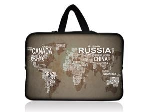 "WorldIntheBag 13"" 13.3"" inch Notebook Laptop Case Sleeve Carrying bag with Hide Handle for Apple Macbook pro 13 Air 13/Samsung 530 535U3/Dell XPS inspiron 13/ ASUS/SONY SD4/ThinkPad X1 E330"