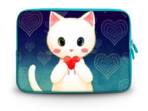 """CorlfulCase® 9.7"""" 10"""" 10.2"""" inch Laptop Netbook Tablet Case Sleeve Carrying bag with Hide Handle For iPad/Asus EeePC/Acer Aspire one/Dell inspiron/Samsung N145/Lenovo S205/HP Touchpad Mini happy bear"""