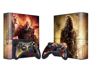 For Microsoft Xbox 360 E Skins Console Stickers Personalized Games Decals Wiht Controller Protector Covers - BOX1330-255