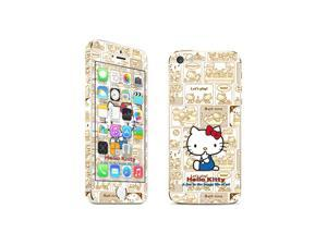 Apple iPhone 5S Skins Hello Cat Full Body Decals Stickers Covers Screen Protector - MAC1338-99