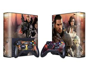 For Microsoft Xbox 360 E Skins Console Stickers Personalized Games Decals Wiht Controller Protector Covers - BOX1330-66