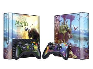 For Microsoft Xbox 360 E Skins Console Stickers Personalized Games Decals Wiht Controller Protector Covers - BOX1330-86