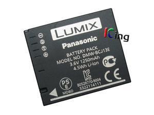 Genuine Panasonic Lumix DMW-BCJ13E DMW-BCJ13 Li-ion Battery for DMC-LX5 DMC-LX5W